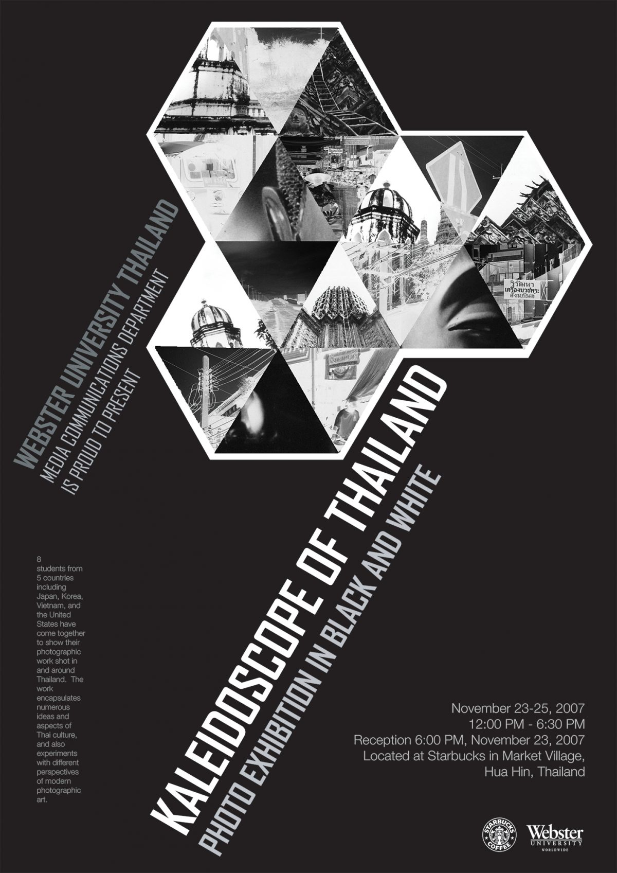 Kaleidoscope of Thailand Photography Exhibition Poster